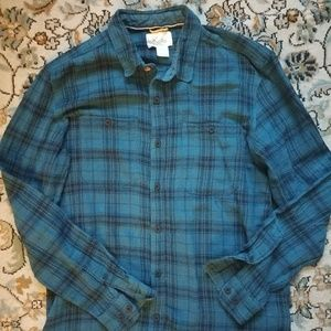 Koto flannel button-down shirt